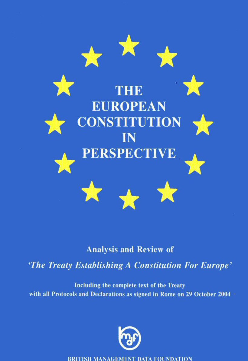 on europes constitution - an essay